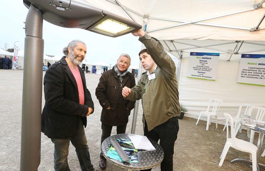 Premier salon de l'éclairage public dans l'Yonne
