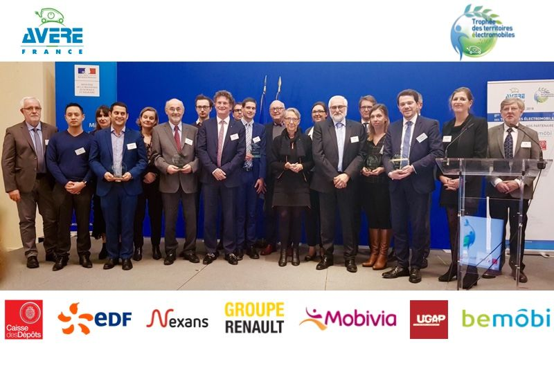 Le SDEY lauréat du trophée des territoires électromobiles