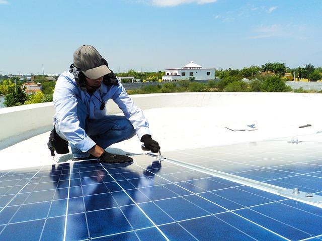 Produire de l'électricité grâce au soleil