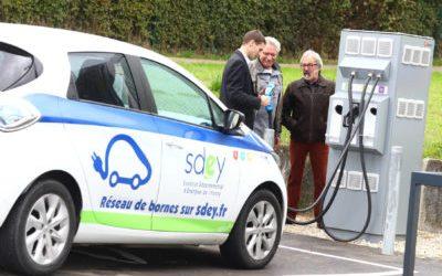 157 bornes de charge pour véhicule électrique dans l'Yonne