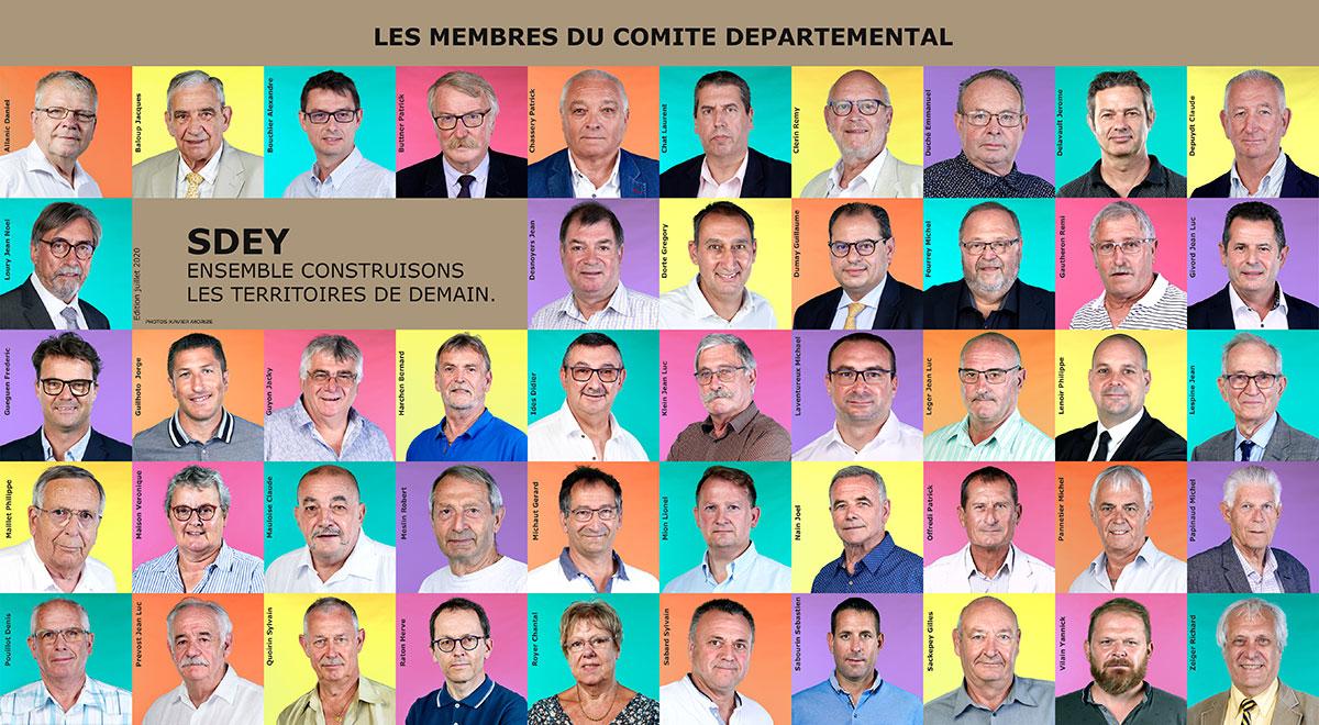 47 Membres Du Comite Departemental Du Sdey Oct 2020