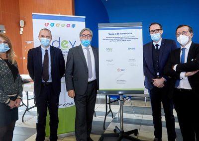 Signature Du Nouveau Contrat De Concession Sdey Enedis Edf 2