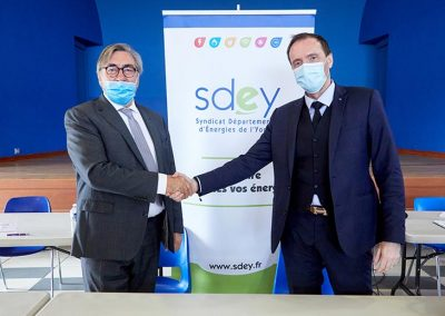 Signature Du Nouveau Contrat De Concession Sdey Enedis Edf 5
